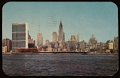 view Unidentified sender, New York, N.Y. postcard to Faith Weston, Washington, D.C. digital asset number 1