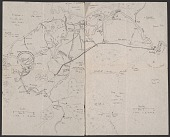 view Hand drawn map of an area in southern Iraq digital asset number 1