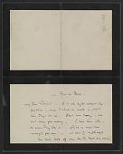 view James McNeill Whistler letter to Herbert Charles Pollitt digital asset number 1
