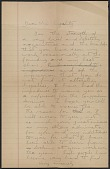 view Robert W. White draft of a letter to Jacques Lipchitz digital asset number 1
