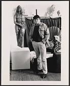 view Robert W. White in his studio in St. James, N.Y. digital asset number 1