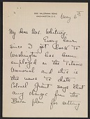 view Letter from Natalie H. Hammond to Gertrude Vanderbilt Whitney digital asset: page