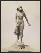 view Clay model of Gertrude Vanderbilt Whitney's sculpture <em>Spirit of the Red Cross</em> digital asset number 1