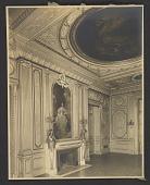 view View of Petit Salon at Cornelius Vanderbilt residence at 1 West 57th Street in New York City digital asset number 1