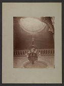view View of chandelier and oculus at Cornelius Vanderbilt residence at 1 West 57th Street in New York City digital asset number 1