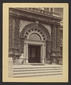 view View of Exterior of Cornelius Vanderbilt residence at 1 West 57th Street in New York City digital asset number 1