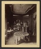 view View of room in Cornelius Vanderbilt residence at 1 West 57th Street in New York City digital asset number 1