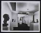 view Photograph of Gertrude Vanderbilt Whitney memorial exhibition at Whitney Museum of American Art digital asset: front
