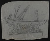 view Sketch of unidentified ship for memorial digital asset number 1