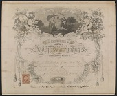 view Worthington Whittredge marriage certificate digital asset number 1