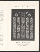 view The dedication service of The Scott Memorial Window at the Central Methodist Church, Lawrence, Mass. digital asset number 1