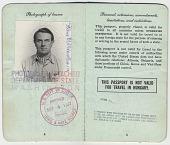 view Frans Wildenhain's passport digital asset: page