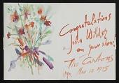view Norman Carton greeting card to John Brantley Wilder digital asset number 1