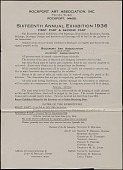 view Museum and Art Organization Bulletins digital asset: Museum and Art Organization Bulletins