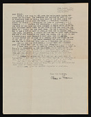 view Charles White, Pasadena, California letter to Melvin Williamson, Brooklyn, New York digital asset number 1
