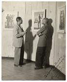 view Rex Goreleigh and Ellis Wilson at the South Side Community Art Center digital asset number 1