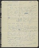 view Walter De Maria letter to Susanna Wilson digital asset number 1