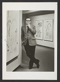 view Theodore F. Wolff at an exhibition installation digital asset number 1