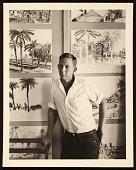 view Paul Wonner in his studio digital asset number 1