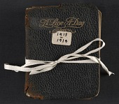 view Beatrice Wood diary digital asset: cover