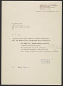 view Hans Moestrup letter to Herbert Mayer digital asset number 1
