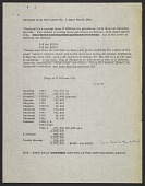 view Typescript notes pertaining to a purchase by Herbert Mayer from Il Milione digital asset number 1