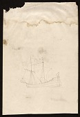 view Sketch for mural at the Brodhead Naval Armory, Detroit, Mich. digital asset number 1