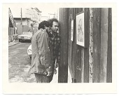 view Photograph of Carlos Loarca and Rupert García in Balmy Alley, San Francisco digital asset number 1