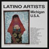 view Catalog for <em>Latino Artists: Michigan U.S.A.</em> digital asset: cover