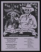 view Flyer for <em>Frida y Diego, una pareja</em> Dia de los Muertos exhibition digital asset number 1