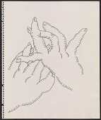 view Drawing of gesturing hands digital asset number 1