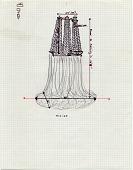 view Sketch for <em>Hirise</em> on graph paper digital asset number 1