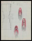 view Sketch of design for hanging digital asset number 1