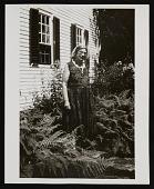 view Photograph of Marguerite Zorach in her garden digital asset number 1