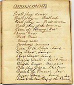 view George Catlin's notebook #6 digital asset: page 1