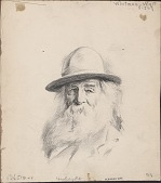 view Walt Whitman; Caspar Whitney; Gertrude Vanderbilt Whitney digital asset: Walt Whitman; Caspar Whitney; Gertrude Vanderbilt Whitney