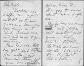 view Arthur Dove to Alfred Stieglitz, Drafts and Copies digital asset: Arthur Dove to Alfred Stieglitz, Drafts and Copies