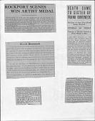 view Newspaper Clippings, Frank Duveneck digital asset: Newspaper Clippings, Frank Duveneck