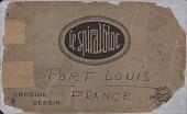 "view Sketchbook, ""Port Louis, France"" digital asset: Sketchbook, ""Port Louis, France,"""