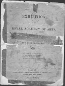 "view Exhibition Catalog, ""The Exhibition of the Royal Academy of Arts"" digital asset: Exhibition Catalog, ""The Exhibition of the Royal Academy of Arts"""