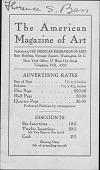 view American Federation of Arts digital asset: American Federation of Arts