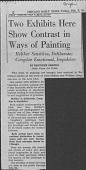 view Congdon, William - Clippings digital asset: Congdon, William - Clippings