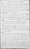 """view Manuscript, """"Portrait of Washington,"""" digital asset: Manuscript, """"Portrait of Washington,"""""""