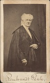 view Photographs of Rembrandt and Harriet Peale digital asset: Photographs of Rembrandt and Harriet Peale