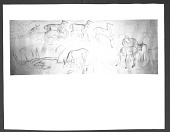 """view Mural """"Antelopes,"""" Florence, Colorado Post Office (1939) digital asset: Mural """"Antelopes,"""" Florence, Colorado Post Office (1939)"""