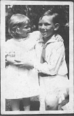 view Photographs of Aline Saarinen as a Young Girl digital asset: Photographs of Aline Saarinen as a Young Girl