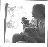 view Aline and Eero Saarinen and Children digital asset: Aline and Eero Saarinen and Children