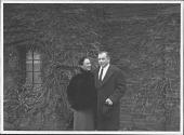 view Photographs of Aline and Eero Saarinen digital asset: Photographs of Aline and Eero Saarinen