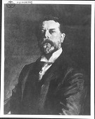 view Photograph of John Singer Sargent Self-portrait digital asset: Photograph of John Singer Sargent Self-portrait