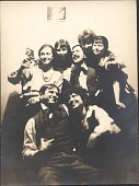 view Photographs of a Party (by Yasuo Kuniyoshi) digital asset: Photographs of a Party (by Yasuo Kuniyoshi)